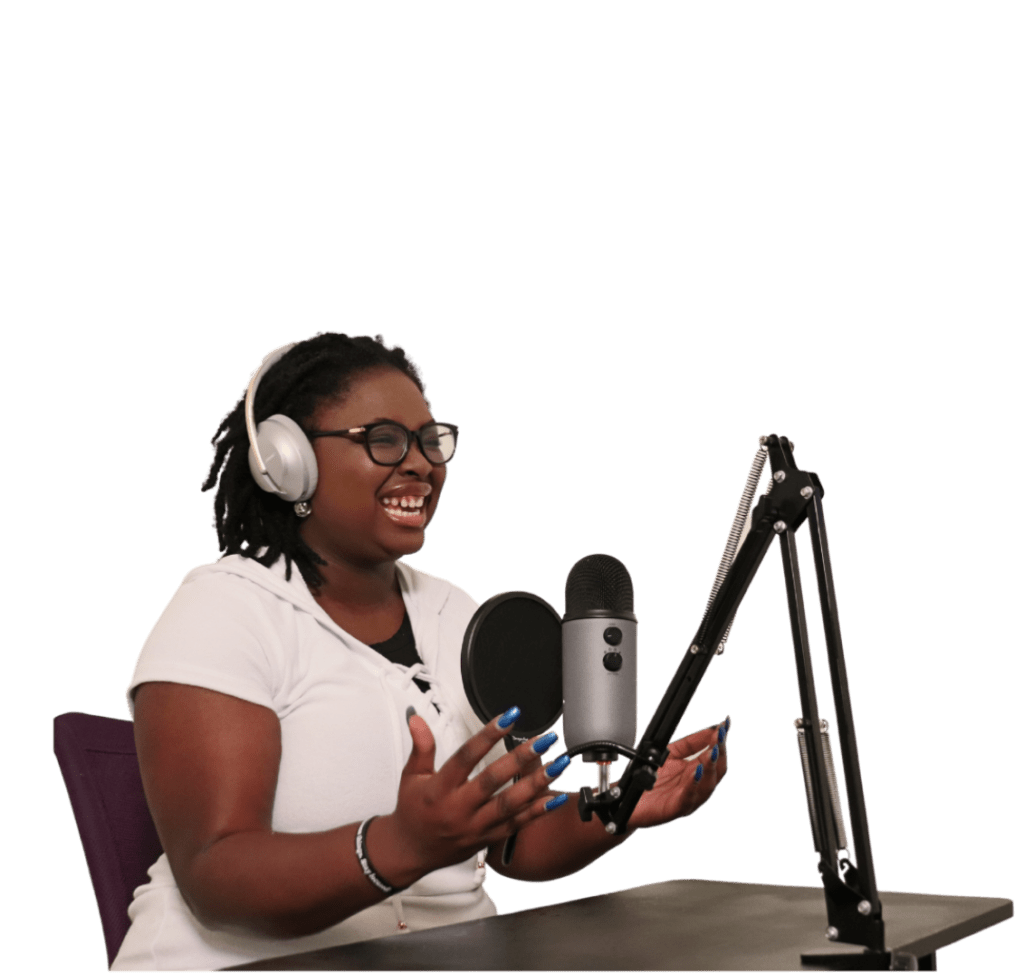 Ariel The Food Truck Scholar Podcast Host