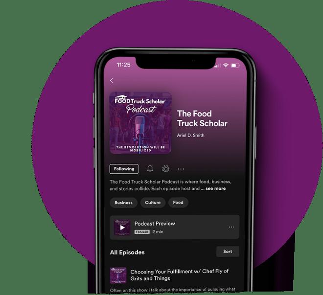 TFTs Podcast Iphone Mockup