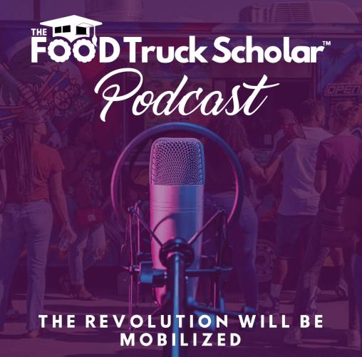 The Food Truck Scholar Podcast Art